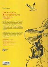 Verso de Agatha Christie (Emmanuel Proust Éditions) -23- Les Vacances d'Hercule Poirot