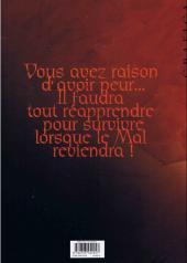 Verso de Le mal -1a- L'Œil du mur