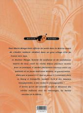 Verso de Docteur Monge -1- Hermine