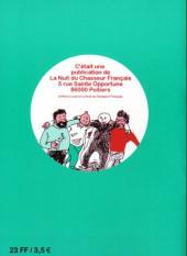 Verso de Tintin - Pastiches, parodies & pirates -RL2- Tintin au Bongo