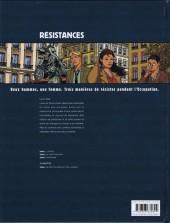 Verso de Résistances -3- Marianne
