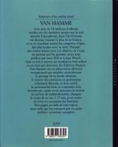 Verso de (AUT) Van Hamme - Van Hamme, itinéraire d'un enfant doué