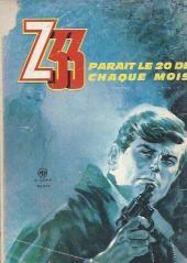 Verso de Z33 agent secret -93- L'oreille du sicilien