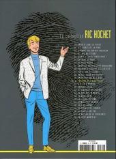 Verso de Ric Hochet - La collection (Hachette) -30- Le fantôme de l'alchimiste