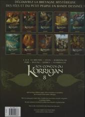 Verso de Les contes du Korrigan -8a- Livre huitième : Les Noces féeriques