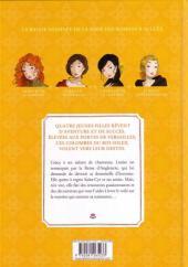 Verso de Les colombes du Roi-Soleil -2- Le secret de Louise