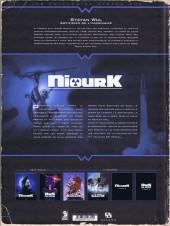 Verso de NiourK -1- L'Enfant noir
