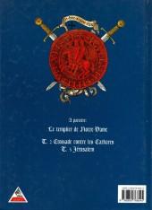Verso de Le templier de Notre-Dame -3- Le grand secret