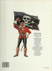 Verso de Barbe-Rouge -1c1991- Le démon des Caraïbes