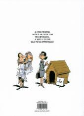 Verso de À vendre -1- Vie et mœurs de l'agent immobilier