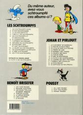 Verso de Johan et Pirlouit -8c89- Le sire de montrésor