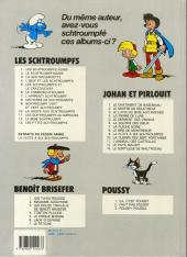 Verso de Johan et Pirlouit -9c1989- La flûte à six schtroumpfs
