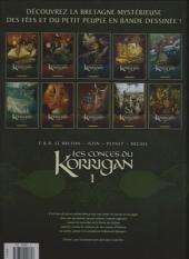 Verso de Les contes du Korrigan -1a- Livre premier : les Trésors Enfouis