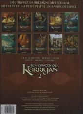Verso de Les contes du Korrigan -2c2012- Livre second : Les mille Visages du Diable