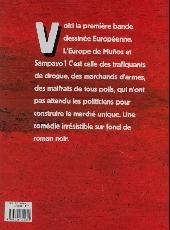 Verso de L'europe en flammes - L'Europe en flammes