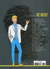 Verso de Ric Hochet - La collection (Hachette) -31- K.O. en 9 rounds