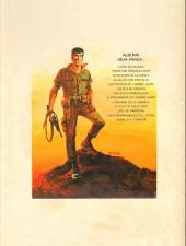 Verso de Bob Morane 2 (Dargaud) -14a1977- La prisonnière de l'ombre jaune