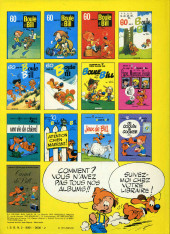 Verso de Boule et Bill -7c77- Album N° 7 des gags de Boule et Bill