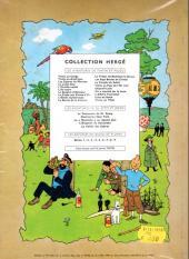 Verso de Tintin (Historique) -16B29- Objectif Lune