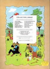 Verso de Tintin (Historique) -17B29- On a marché sur la Lune