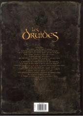 Verso de Les druides -7- Les disparus de Cornouailles