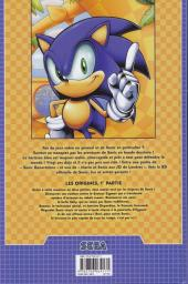 Verso de Sonic (Delcourt) -1- Les origines 1/2
