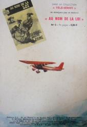 Verso de Télé série bleue (Les hommes volants, Destination Danger, etc.) -2- Les hommes volants - Dans l'œil du typhon