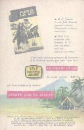 Verso de Télé série bleue (Les hommes volants, Destination Danger, etc.) -5- Les hommes volants - Les anges de l'enfer