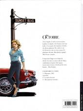 Verso de Miss Octobre -1- Playmates, 1961