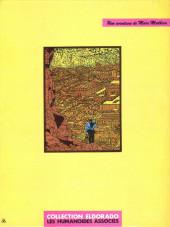 Verso de Marc Mathieu (Une aventure de) -2- Le faucon de Mû