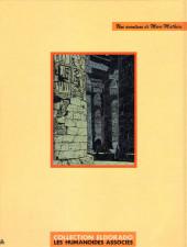 Verso de Marc Mathieu (Une aventure de) -11/2- Le faucon de Mû