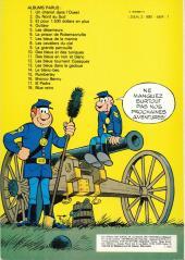 Verso de Les tuniques Bleues -7b1982- Les bleus de la marine