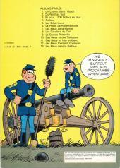 Verso de Les tuniques Bleues -4a1978- Outlaw