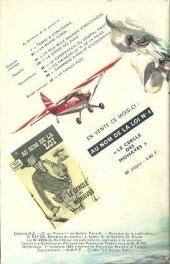 Verso de Télé série bleue (Les hommes volants, Destination Danger, etc.) -4- Les hommes volants - Trafic à Copa Tonka