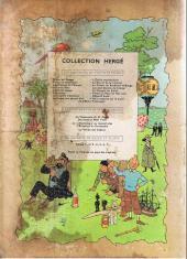 Verso de Tintin (Historique) -7B23- L'île noire