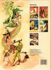 Verso de Papyrus -1a1985- La momie engloutie