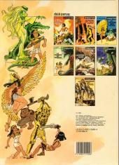 Verso de Papyrus -2a1985- Le maître des trois portes