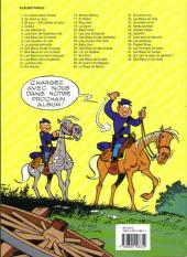 Verso de Les tuniques Bleues -4b2000- Outlaw