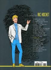 Verso de Ric Hochet - La collection (Hachette) -32- Tribunal noir