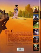 Verso de Le sang des Porphyre -5- Aurore