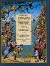 Verso de Les fils de l'aventure -4- Le trésor du temple maudit