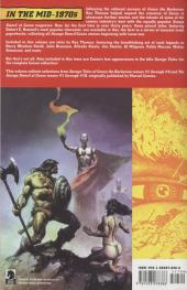 Verso de Savage sword of Conan (The) (intégrale Dark Horse)) -INT01- Volume One