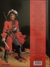 Verso de Barbe-Rouge -32a2001- L'ombre du démon