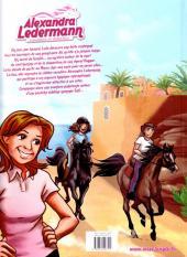 Verso de Alexandra Ledermann - Cavalière et Détective -1- La pouliche du désert