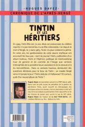 Verso de (AUT) Hergé -20a- Tintin et les héritiers