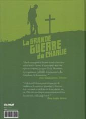 Verso de La grande Guerre de Charlie -3- Volume 3
