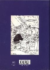 Verso de (AUT) Wasterlain - Une monographie