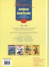 Verso de Spirou et Fantasio -6- (Int. Dupuis 2) -1a08- Les débuts d'un dessinateur