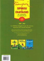 Verso de Spirou et Fantasio -6- (Int. Dupuis 2) -2a- De Champignac au Marsupilami