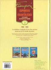 Verso de Spirou et Fantasio -6- (Int. Dupuis 2) -3a09- Voyages autour du monde
